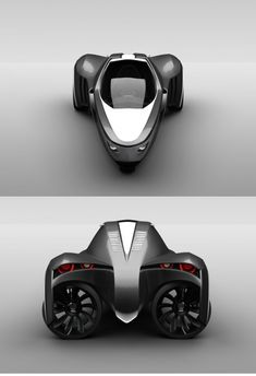 Each of the rear wheels is powered by its own electric motor and can be rotated 90 degrees...