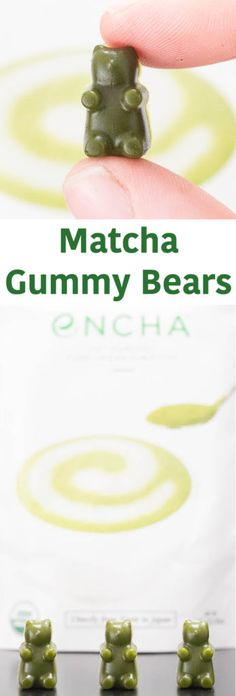 Matcha Gummy Bears Recipe - Homemade Gummy Bears