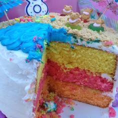 Three layered cake :)