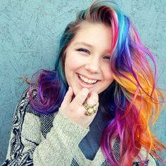 "1,327 Me gusta, 33 comentarios - Alix Maya (@alix_maya) en Instagram: ""In 2015 I gave my baby girl #unicornhair using all @manicpanicnyc for her straight A report card!!!…"""