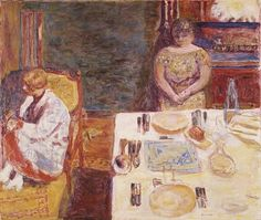 pierre bonnard(1867–1947), before dinner, 1924. oil on canvas, 90.2 x 106.7 cm. the metropolitan museum of art, new york, usa http://www.metmuseum.org/toah/works-of-art/1975.1.156