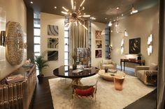 Interior Design Trends 2018 | @covethouse_ luxury furniture ideas for your living room at Maison Objet