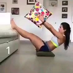 Full Body Hiit Workout, Gym Workout Videos, Gym Workout For Beginners, Abs Workout Routines, Fitness Workout For Women, Ab Workout At Home, Sport Fitness, Gym Workouts, At Home Workouts