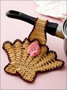 Picture of Big Book of Dishcloths Potholders and Scrubbies.  Maggie's
