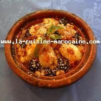 Tajine de poulet aux poires et au miel