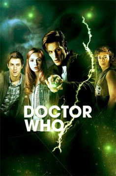 The 11th Doctor, River Song, Amy Pond, Rory