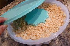 Recette: Aspic au rice krispies. Rice Krispies, Corn Flakes, Mousse, Biscuits, Grains, Cupcakes, Food, Gourmet Desserts, Candy Bars