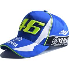 46 Embroidery Baseball Cap Hat Motorcycle Racing VR46 Caps Racing  Motorcycles 004ac9019d97