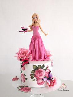 Barbie cake by Evgenia Vinokurova