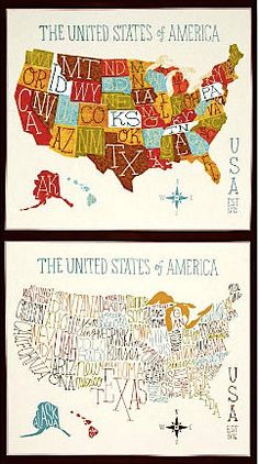 How To Make A Fabric USA Map Fabrics Craft And Map Quilt - Us state map quilt