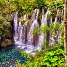 Plitvice National Park in Croatia is a UNESCO World Heritage Site. Photo courtesy of redvgas on Instagram.