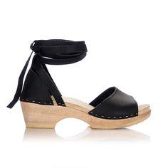inge ankle wrap clog // loeffler randall