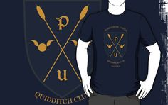 Puddlemere United t shirt harry potter