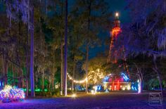 Stephen Foster State Park Festival of Lights.