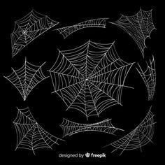 Halloween Vector, Art Deco Design, Vector Free, Journal, Collection, Journals