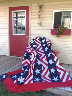 "The Fourth of July holiday is a great time to celebrate all things ""Made in the USA!"" In that spirit, I have created a patriotic quilt pattern I've called ""Made in USA"" to share with you and help you celebrate all the things that make living in America great."