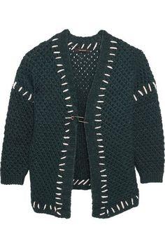 Isabel Marant - Gent Oversized Wool-blend Cardigan - Petrol - FR44