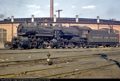 RailPictures.Net Photo: NW 1470 Norfolk & Western Steam 2-6-6-2 at Roanoke, Virginia by Bob Drake [Collection of Tom Sink]