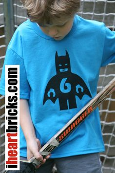 Batman - Screen printed t-shirt - Personalized. via Etsy