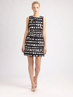 RED Valentino - Bow/Ribbon-Print Dress. TopShelfClothes.com