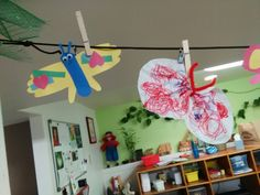Butterfly daycare toddler craft