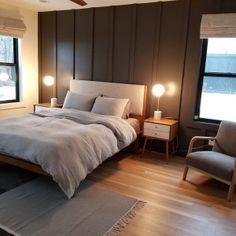 Modern Bed Frame Wall Decor, Frames On Wall, Duvet Sets, Duvet Cover Sets, Master Bedroom Minimalist, Modern Bed Linen, Teen Furniture, Sofa Shop, Kiln Dried Wood