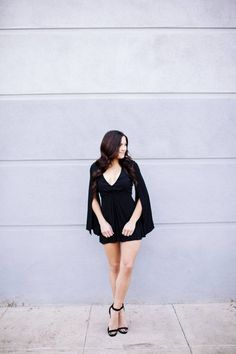 Shop our gorgeous new Lana Romper #black #romper