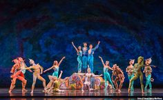 Artists of Colorado Ballet in The Little Mermaid - by Mike Watson