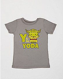 Y is For Yoda Star Wars Toddler Tee