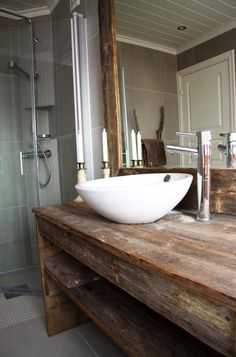 bathroom sink, beautiful wooden table