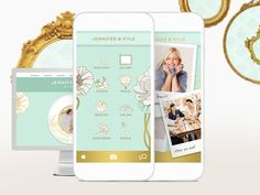 Making a wedding website is simple with this awesome app. Check it out and more: Top Wedding Planning Apps >> http://www.hgtv.com/remodel/interior-remodel/top-wedding-planning-apps-pictures?soc=pinterest