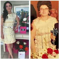 Bridal Shower Look #2 | My Grandmothers Dress from 40 Years Earlier - I Tailored it to Fit me Perfectly