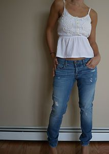 Casual cigarette jeans