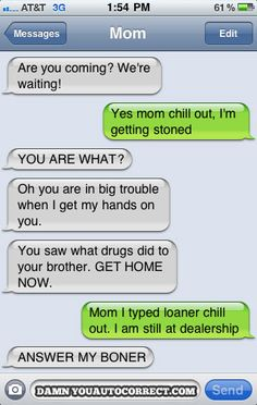 #autocorrect getting stoned