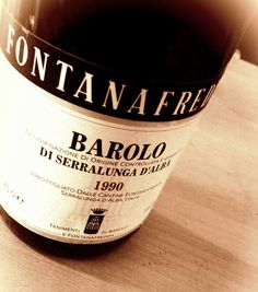 This Barolo, I like very much!