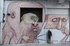 Nemo's - Italian Street Artist - Madrid (E) - 02/2015 - |\*/| #nemo's #streetart
