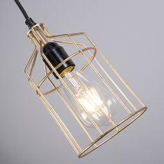 Lámpara colgante FRAME Luxe C oro #home #deco #iluminación