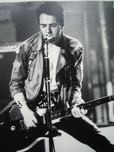 Joe Strummer of THE CLASH! The only band that matters!