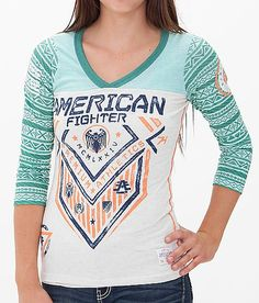 Just Ordered! So in love with this American Fighter North Dakota T-Shirt.