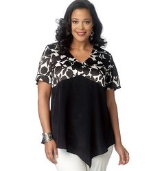 996f18bccaaaf0 B6187 | Misses'/Women's Asymmetrical-Hem Tops Sewing Pattern | Butterick  Patterns. Plus Size ...