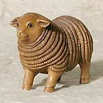 Sheep netsuke