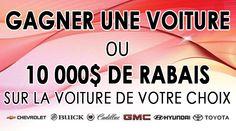 http://groupegravelauto.com/g/97426 Gagnez une voiture! -  Win a car! Le Groupe Gravel Auto ( Gravel IDS, Gravel Décarie, Hyundai Ile des Soeurs et Gravel Toyota ) fait tirer une voiture, participez, c'est facile et gratuit! @GroupeGravel #concours Voulez vous gagner une voiture? Want to win a car? http://groupegravelauto.com/g/97426