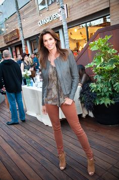 Cindy Crawford looking fabulous at our Quiksilver Malibu store