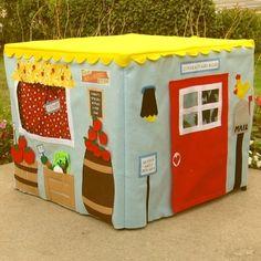 fabric cardtable playhouse