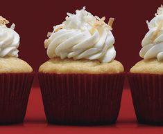 Vanilla Bean-Coconut Cupcakes with Coconut Frosting Recipe | Epicurious.com
