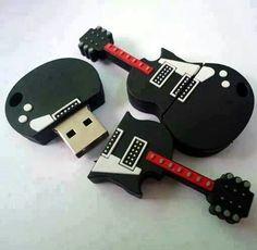 Guitar usb thumb drive