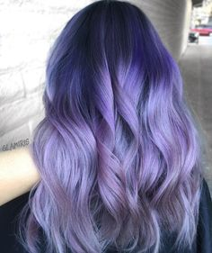 Purple and silver hair                                                                                                                                                                                 More