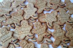 Galletas corporativas con mensaje y logo / Corporate cookies with message and logo.