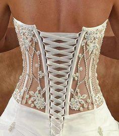 vestido de noiva costas trançadas