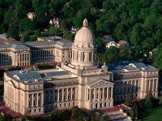Frankfort, Kentucky - capital building